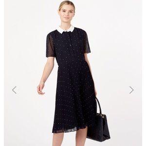 🌿 NWT Hobbs London polka dot dress Anthropologie